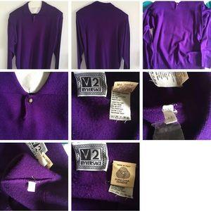 Gianni Versace V2 100% Wool (Pure Lane) Sweater